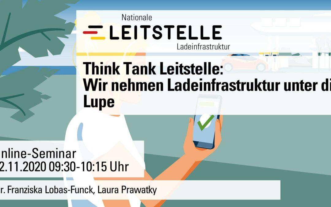 Think-Tank Leitstelle: Wir nehmen Ladeinfrastruktur unter die Lupe