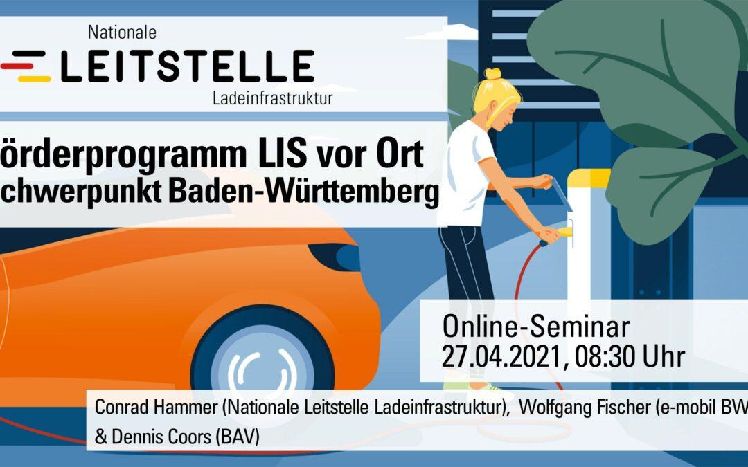 Förderprogramm LIS vor Ort Schwerpunkt Baden-Württemberg